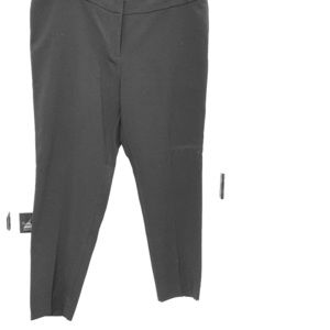 Black ankle length slacks